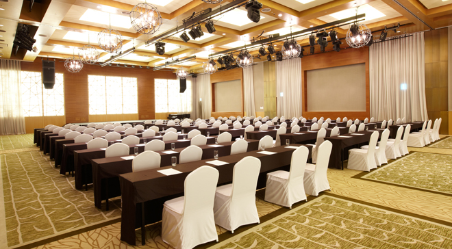 Grand Balloom of Konjiam Resort equipped with the latest facilities for the sophisticated meeting and event①