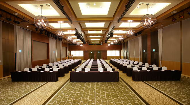 Grand Balloom of Konjiam Resort equipped with the latest facilities for the sophisticated meeting and event②